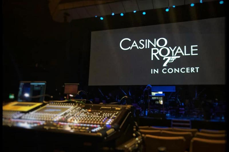 Casino Royale in Concert @ Harrogate International Festivals, Harrogate, North Yorkshire