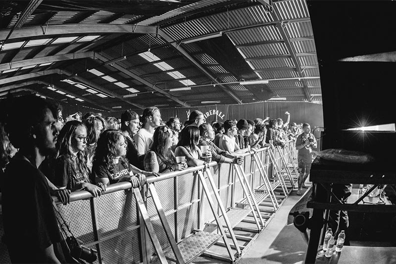 Main Stage festival crowd @ UK Tech-Fest © Lee Harper Photography