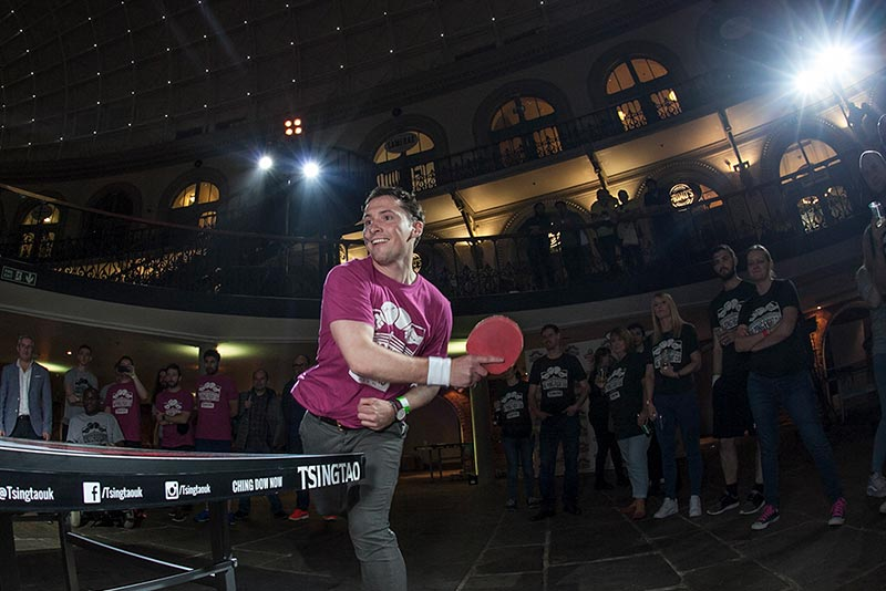 Leeds Ping Pong Fight Club Tournament @ Leeds Corn Exchange, Leeds, West Yorkshire © Ping Pong Fight Club